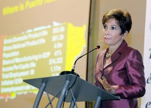 Economist Heidie Calero is president of H. Calero Consulting Group. (Credit: © Mauricio Pascual)
