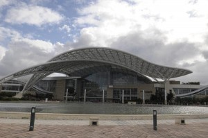 The Puerto Rico Convention Center in Miramar. (Credit: © Mauricio Pascual)