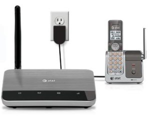 AT&T's wireless home phone service.