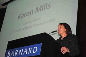 SBA Administrator Karen Mills