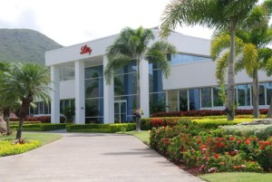 Eli Lilly's plant in Guayama is one of two manufacturing facilities it has on the island.