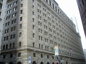 Federal Reserve Bank of New York (Credit: Wikipedia)