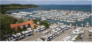 the EPA will host a Compliance Assistance and Pollution Prevention Workshop for marina owners and operators at Marina Puerto del Rey in Fajardo. (Credit: www.puertodelrey.com)