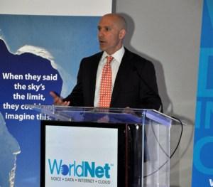 WorldNet CEO David Bogaty