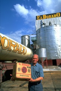 Although Guyana's El Dorado and Demerara premium brands are known worldwide, most Guyanese rum is exported in price-sensitive bulk form. (Credit: Larry Luxner)