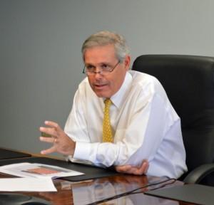 GDB President Javier Ferrer