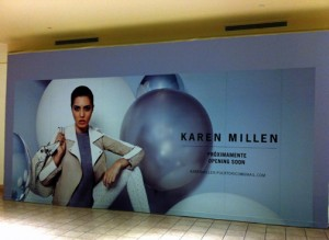 Karen Millen is moving into a 3,000 square-foot location in Plaza Las Américas. (Credit: © Mauricio Pascual)