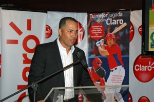 Puerto Rican Major League Baseball player Carlos Beltrán.