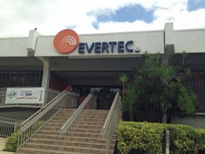 Payment processing firm Evertec's Cupey headquarters.