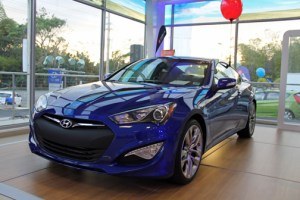 The new $4 million Hyundai dealership offers sales and service under one roof.
