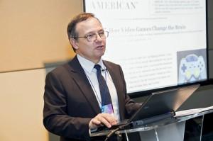 Augusto Ibáñez, corporate editorial director of Spain's Fundación SM