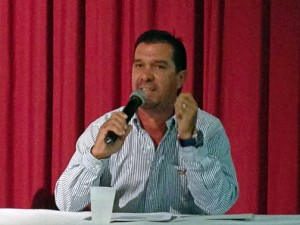 Eric González, vice president of Marine Express