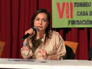 Maribel Mas, vice president of the Ferries del Caribe Foundation