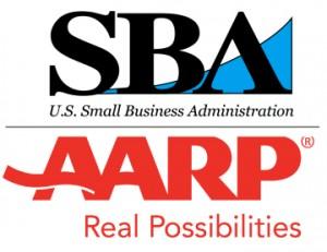 SBA AARP logo