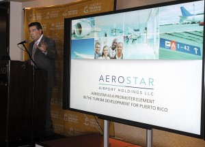 Aerostar Holdings CEO Agustín Arellano discusses how things are going so far at LMM. (Credit: © Mauricio Pascual)