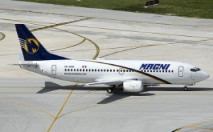 Mexico's MagniCharters is one of two airlines that could start offering direct flights between San Juan and Mexico City.