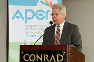 Julián Herencia, executive director of the Renewable Energy Producers Association.