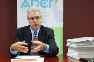 Julián Herencia, executive director of the trade group known as APER.