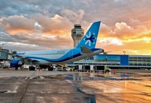 Interjet landed on Puerto Rican soil for the first time Tuesday afternoon.