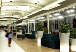 Once finished, the newly redesigned hallway will be used for fashion shows and other events, mall officials said.