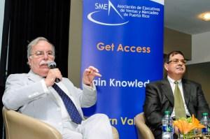 Economists José J. Villamil and Carlos Colón de Armas