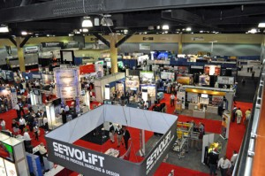 Last year's exhibition attendance increased by 20 percent, with a participation of more of 5,000 professionals, made very apparent by the very busy show floor.