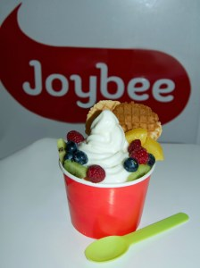 """With its probiotic properties, which help in digestion and build immunity, and high calcium content, Joybee frozen yogurt is that combination of a """"good for you healthy treat and superb taste."""""""