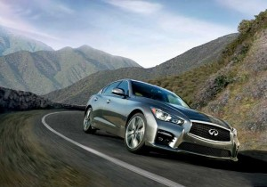 The new Q50 is the first model in the world to feature Infiniti Direct Adaptive Steering technology.