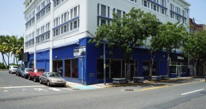 The future Aaron Stewart Home location will open in October, at the former Banco Popular location in Puerta de Tierra.