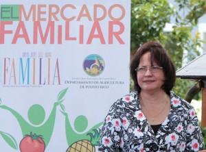 Agriculture Secretary Myrna Comas
