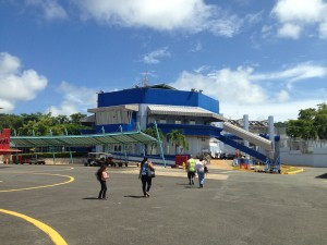 The W has helped to spruce up the Antonio Rivera-Rodríguez Airport in Vieques, paying for the facility's most recent paint job.