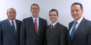 From left: Carlos López-Lay, José Ordeix, Ricardo García, and Pablo Martínez of GUIA.