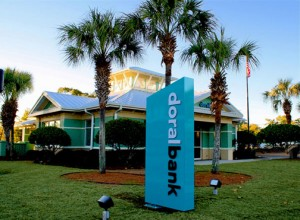 Doral Bank has operations in Florida, including this branch in Panama City. (Credit: www.doralbank.com)