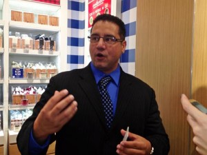 Omar López, District Manager in charge of Puerto Rico and South Florida.
