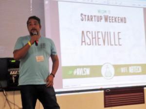 Ramphis Castro, co-organizer of the event