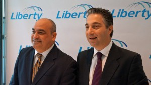 From left: Gabriel Palerm, sales and marketing vice president and Naji Khoury, president of Liberty Puerto Rico.
