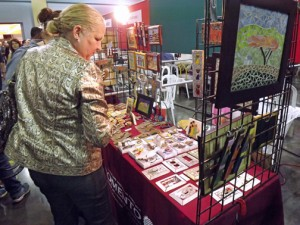 Fair-goers supported the activity, while picking up Christmas presents made by local hands.
