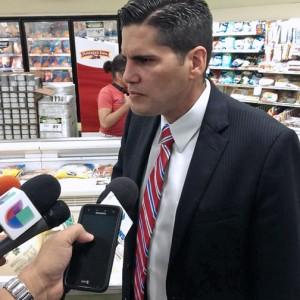 Consumer Affairs Department Secretary Nery Adames