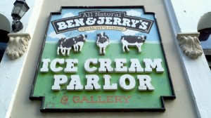 Ben & Jerry's has three locations in Puerto Rico.
