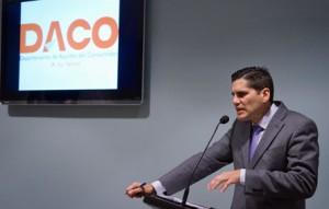 DACO Secretary Nery Adames