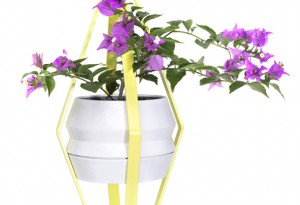 A modern plant holder designed by Vladimir García, one of four industry professionals who will present at the NYC event.