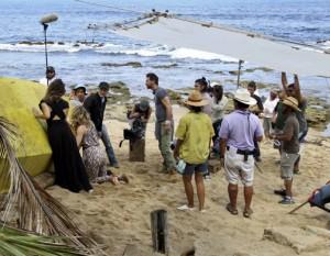 """Scenes from """"Cleaners"""" were shot in ocean front La Perla neighborhood."""