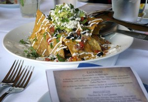 The Nacho de Tres Quesos is one of Rosa Mexicano's signature appetizers. (Credit: © Mauricio Pascual)
