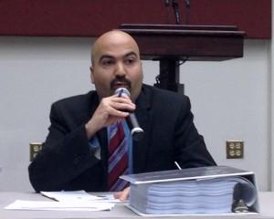 OMB Executive Director Carlos Rivas