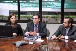 From left: Irene Mia, Antonio Medina and Yamille Morales