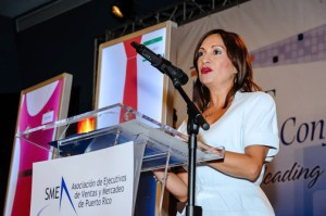 SME President Nélida Rivera-Claudio