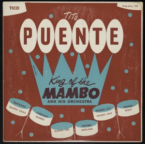 The exhibit includes short films that present the stories of Latino and Puerto Rican musicians in New York, such as Tito Puente, Tito Rodríguez, and FANIA All-Stars.