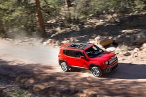 The 2015 Jeep Renegade represents the automaker's incursion into the small SUV segment.