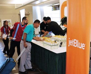 Visitors and residents arriving at the JetBlue terminal will have a chance to sample locally created dishes upon arrival.