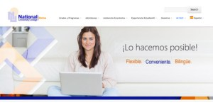 National University College's online offering is accessible at http://online.nuc.edu.